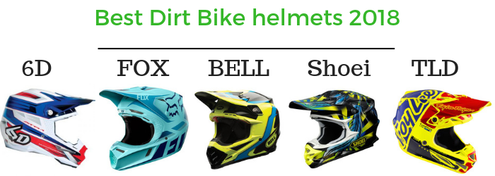 Best dirt bike helmets 2018