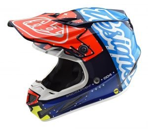 Troy Lee Designs SE4 - best dirt bike helmets 2018