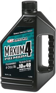4-stroke dirt bike oil - maxima