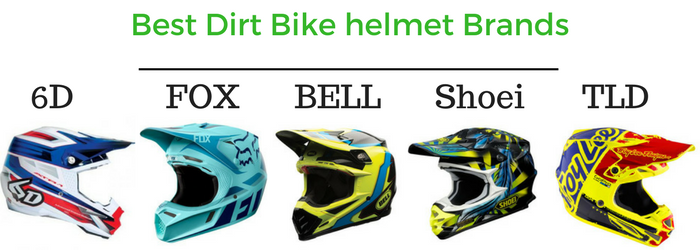 best dirt bike helmet brands