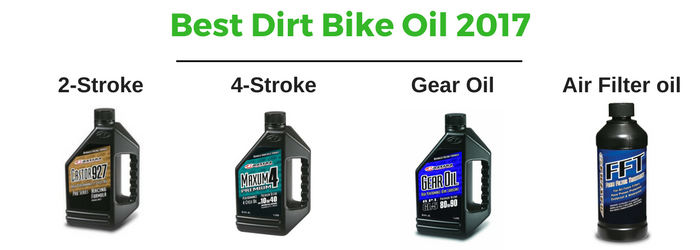 Best Dirt Bike Oil 2017 2 Stroke 4 Stroke The