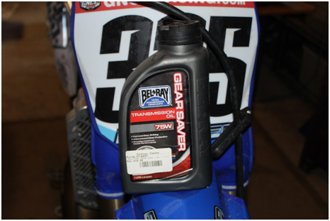 Dirt bike oil change 2 stroke
