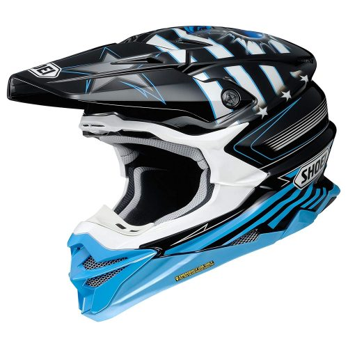 Shoei helmets VFX EVO 2018 Grant TC-2 Blue