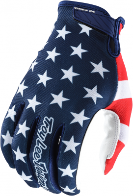 2020 Troy Lee Designs Air Dirt Bike Gloves Americana