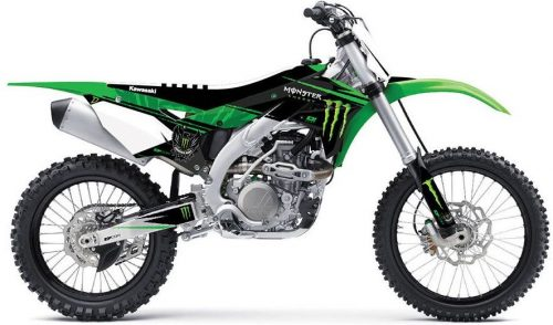 Monster Energy Complete Dirt Bike Graphic Kit 2020