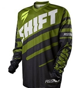 cheap dirt bike gear - shift jersey front