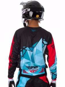 cheap dirt bike gear - fly jersey back
