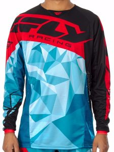 cheap dirt bike gear - flu jersey front