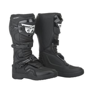 Fly Maverik cheap motocross boots black