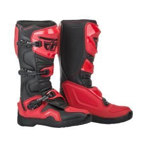 Fly Maverik cheap motocross boots red