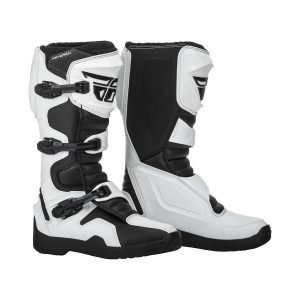 Fly Maverik cheap motocross boots white