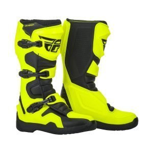 Fly Maverik cheap motocross boots yellow