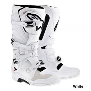 Alpinestars Tech 7 white premium dirt bike boots