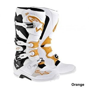 Alpinestars Tech 7 orange premium dirt bike boots