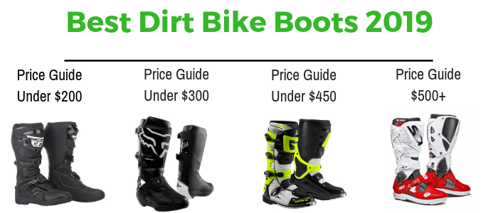 Youth Dirt Bike Boots >> The Best Dirt Bike Boots 2019 Buyer S Guide Reviewed July 2019