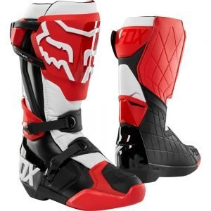 Fox_Comp R_Red dirt bike boots