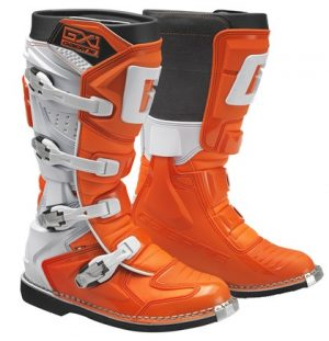 Gaerne GX1 dirt bike boots orange