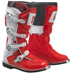 Gaerne GX1 dirt bike boots red