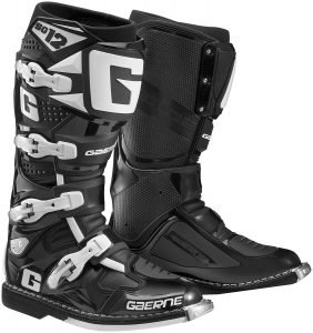 gaerne sg12 black pro dirt bike boots