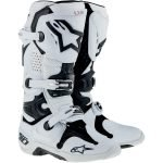 Alpinestars tech10 white pro dirt bike boots