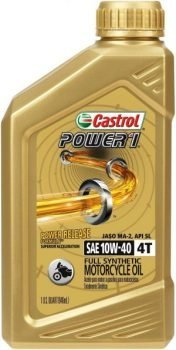 best 4-stroke dirt bike oil - castrol