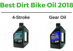 best dirt bike oil 2018