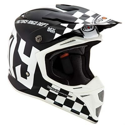 Suomy MX Speed Master Black White Cheap Dirt Bike Helmets 2020