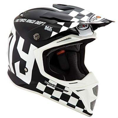 Suomy MX Speed Master Black White Cheap Dirt Bike Helmets 2020