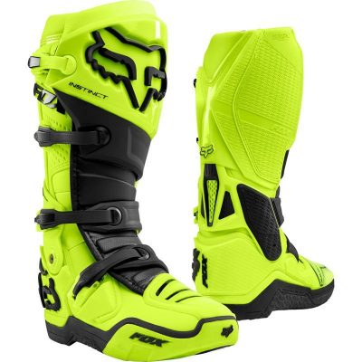 Fox Instinct 2020 yellow motocross boots