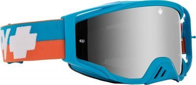 Spy Foundation Plus Bolt Blue dirt bike goggles