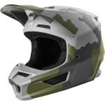 2020 Fox Racing Youth V1 Przm Camo Kids Dirt Bike Helmet