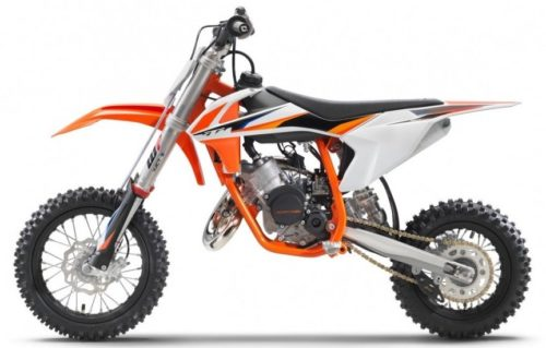 KTM SX50 2021 dirt bike for kids