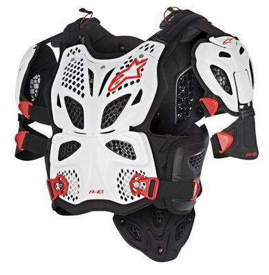 Alpinestars A-10 Full Dirt Bike Chest Protectors