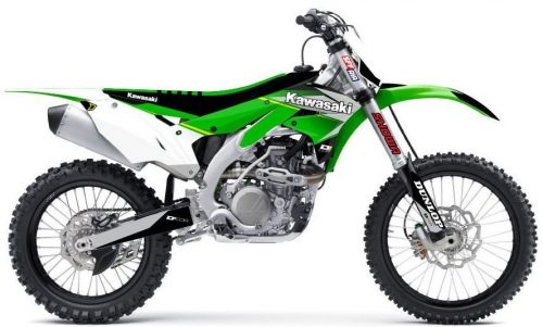Kawasaki Complete graphic kit 2020