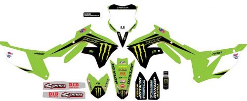 Ready made Complete motocross graphic kits