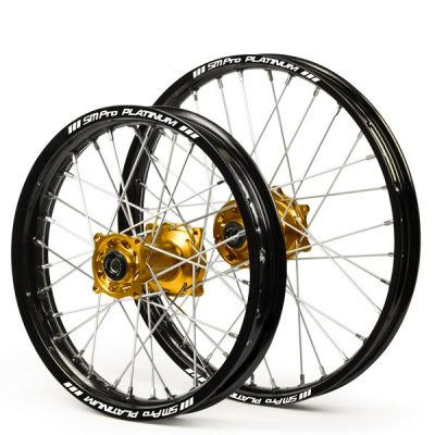 S.M. PRO Platinum Dirt Bike Wheels 2020