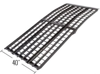 Black Widow four beam - extra-wide Motorcycle ramp width