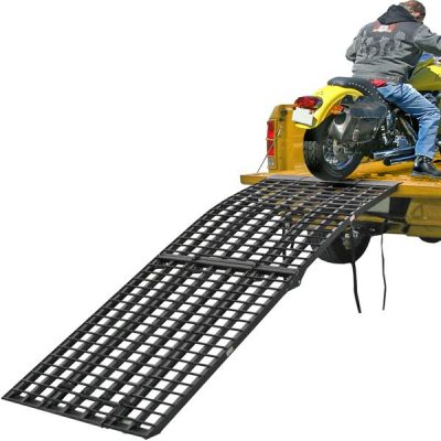 Black Widow four beam - extra-wide motorcycle loading ramp