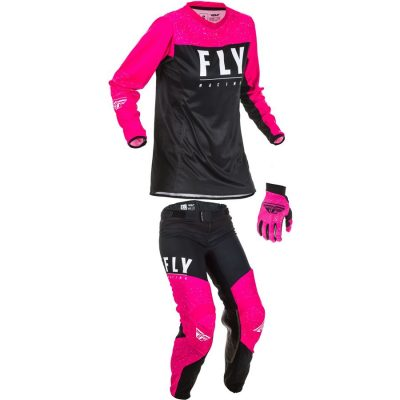 Fly Racing 2020 Women's Dirt Bike Riding Gear combo