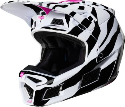 Fox Racing V3 Girls Motocross Helmet 2020