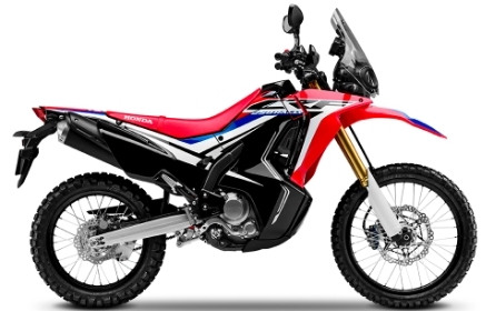 Honda CRF 250 Rally Street Legal Dirt Bike