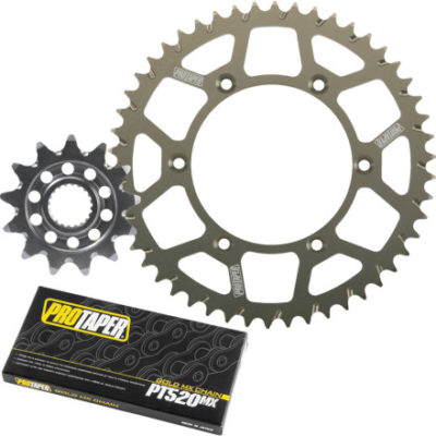 Pro Taper Dirt Bike Chain and Sprocket kit