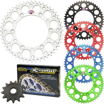 Renthal Dirt Bike Chain and Sprocket Kit