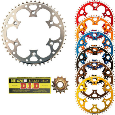 Talon Chain and Sprocket kit for dirt bikes
