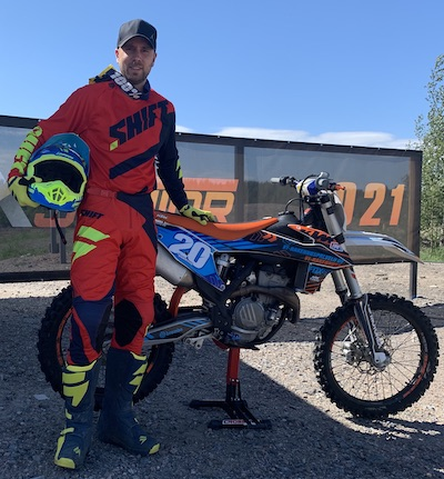 Author of Motocross Advice, Martin Varrand