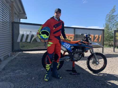 Martin Varrand, Author of the Motocross Success Masterclass Online Course