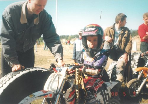 Martin Varrand, The Author of Motocross Advice