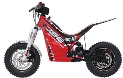 Electric dirt bikes for kids OSET 12.5 racing