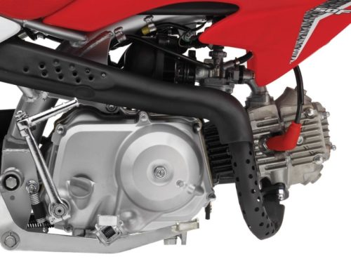 Honds 50CRF50F Engine comparsion - four stroke engine