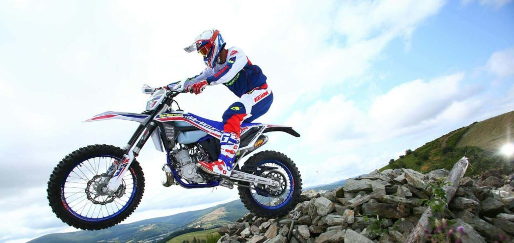 Sherco 300 SE in action